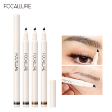 FOCALLURE Eyebrow Pencil Cosmetics Shade Waterproof Liquid Marker Tint For Eyebrows Professional High Quality Female Makeup