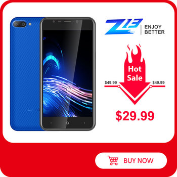 "LEAGOO Z13 Mobile Phone 5.0"" IPS Screen 1GB RAM 8GB ROM Dual Rear Camera Dual SIM 2000mAh Android Quad Core 3G Smartphone 1"