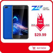 """LEAGOO Z13 telefon komórkowy 5.0 """"ekran IPS 1GB RAM 8GB ROM podwójna kamera tylna Dual SIM 2000mAh Android czterordzeniowy 3G Smartphone"""