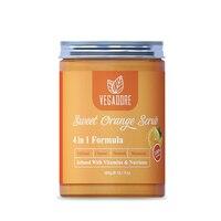 300ml Sweet Orange Body Scrub Cream for Scrubber Exfoliating Scrub to Stay Body Wash Cleansing Whitening Cream & Shrink Pores. 4