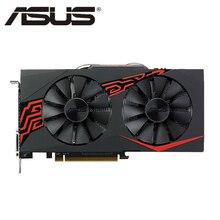 Orijinal ASUS RX 570 4GB ekran kartı GPU Radeon RX570 4GB grafik kartları AMD bilgisayar oyunu ekran haritası 580 560 550 VGA ekran kartı