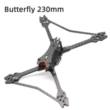 TCMMRC FPV Racing Drone Butterfly 230 230mm Quadcopter Frame 5 Inch FPV Racing Frame For Frame Kit