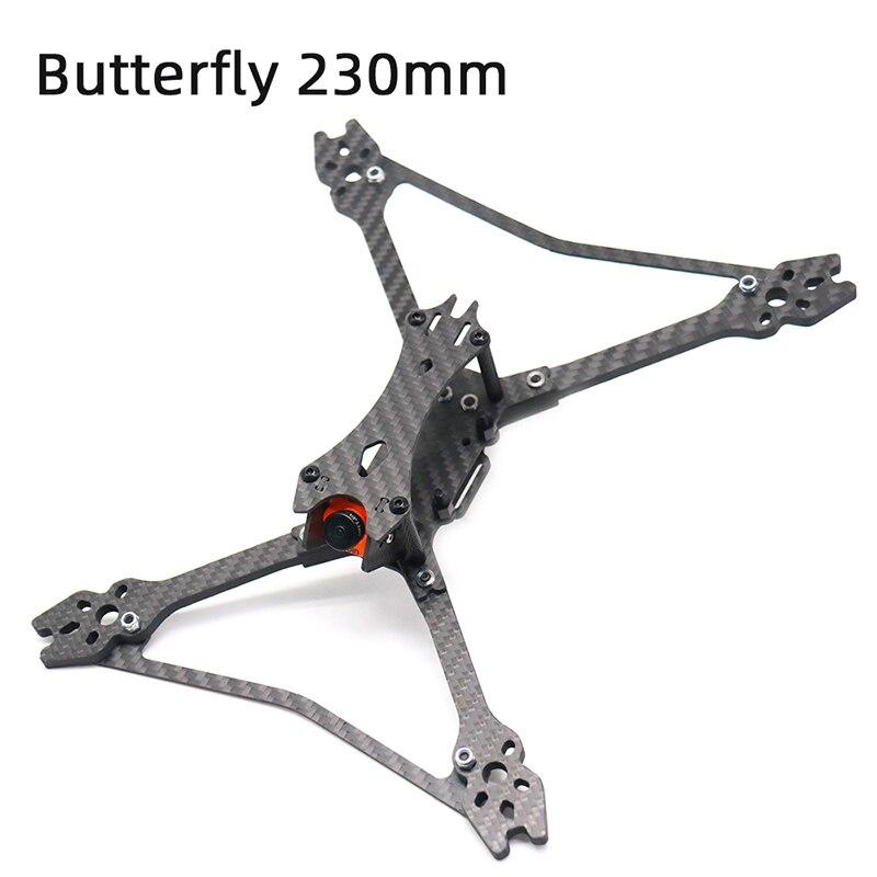 TCMMRC FPV Drone de course papillon 230 230mm cadre quadrirotor 5 pouces cadre de course FPV pour Kit de cadre