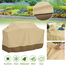 Outdoor BBQ Tool Cover Dust Waterproof Weber Heavy Duty Grill Cover Shade Sails Rain Protective Outdoor Barbecue Cover BBQ Grill