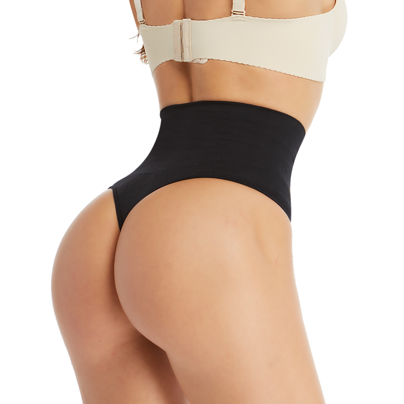 sexy thong panties high waist g string panties women female underwear lenceria butt lifter calcinha shorts plus size shapewear(China)