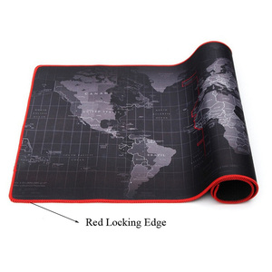 Image 3 - Customized Large Gaming Mouse Pad Gamer World Map Mousepad Anti slip Natural Rubber Desk Pad Mouse Mat Gaming for CSGO Dota  LOL