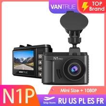 Vantrue n1 pro mini tamanho traço cam carro dvr câmera 1080p gravador de vídeo visão noturna modo de estacionamento g-sensor de detecção de colisão