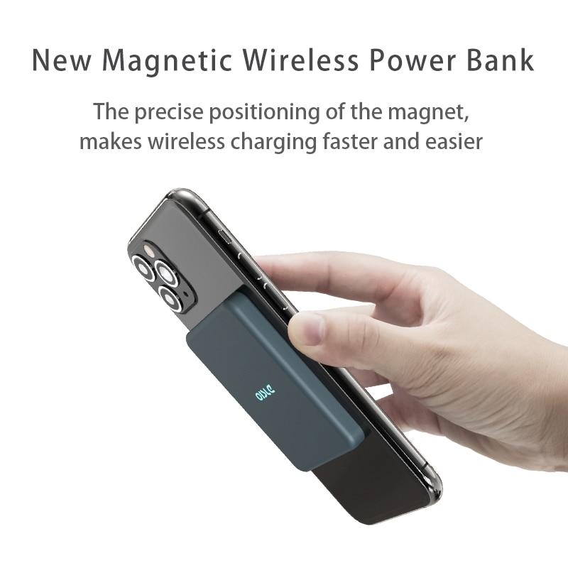 Wireless Magnetic Power Bank OISLE 2