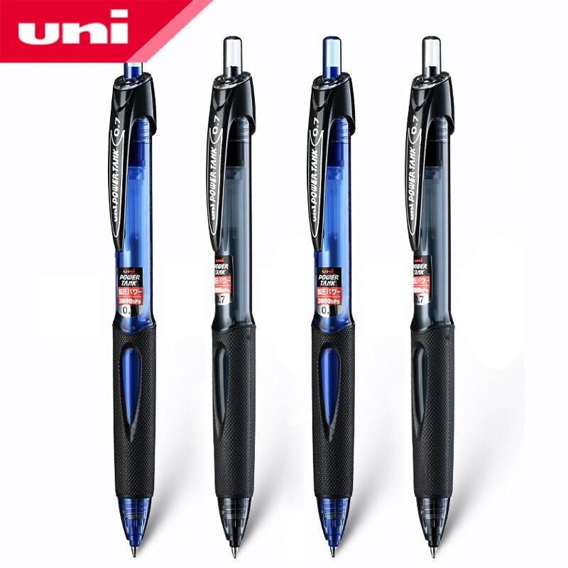 1Pcs  Japan UNI SN-200PT-07 Black Technology POWER TANK Pressurized Ballpoint Pen To Adapt To Various Climates