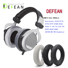 Defean Replacement Soft Ear Pads for Beyerdynamic DT880 DT860 DT990 DT770 T5P T70 T70P T90 T5P T1 headphone