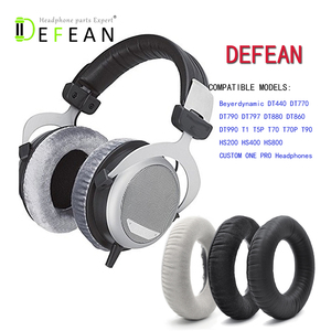 Image 1 - Defean Replacement Soft Ear Pads for Beyerdynamic DT880 DT860 DT990 DT770 T5P T70 T70P T90 T5P T1 headphone