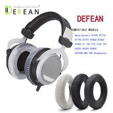 Defean almohadillas blandas de repuesto para auriculares, para Beyerdynamic DT880 DT860 DT990 DT770 T5P T70 T70P T90 T5P T1