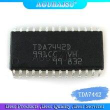 1PCS TDA7442D TDA7442 SOP28 Sound processor, audio amplifier chip, IC integrated circuit, accessories