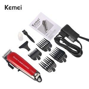 Image 5 - Kemei 2611 Professionelle Barber Haar Clipper Leistungsstarke Maschine Haar Trimmer Für Männer Elektrische Cutter 9W Haar Schneiden Maschine 2611