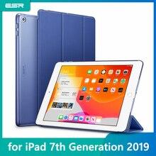 "ESR чехол для iPad 7th Gen 10,"" 10,2 ударопрочный Ptotective чехол Trifold Smart Auto Sleep Wake Fold Stand чехол для iPad 7"