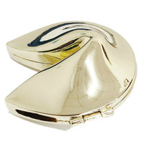 zamak Lucky box Fortune Cookie trinket Metal Alloy Jewelry Box Wedding Favors gifts sourvenir corporation gift free