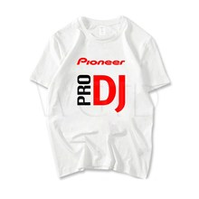 Fashion Pioneer Pro DJ T-shirt Teenage Boys Girls Hip Hop Streetwear T Shirt Summer Short Sleeve Tee Shirts Outwear Casual Tops