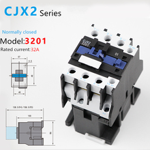 1pcs CJX2-3201AC Contactor CJX2-3201 32A switches LC1 AC contactor voltage 380V 220V 110V 48V 36V 24V 12V Use with float switch цена 2017