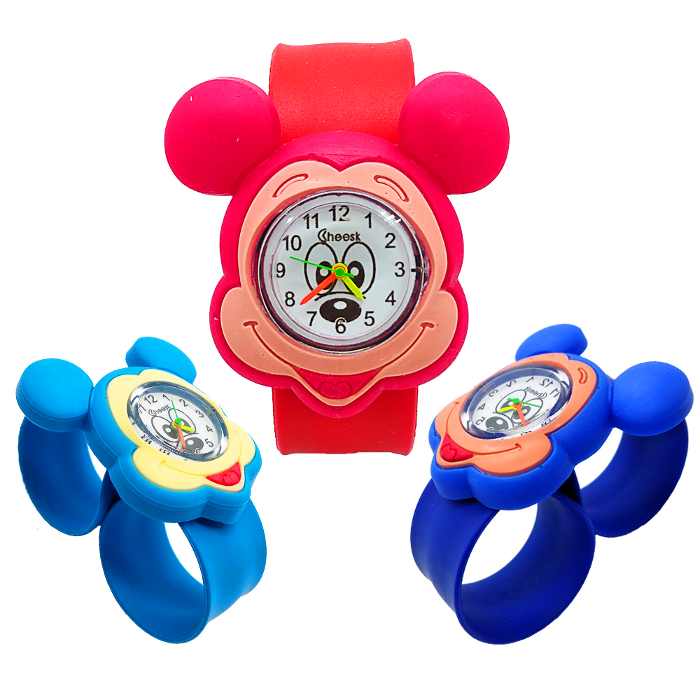 Boys Watches For Kids Children Learning Time Toys Quartz Sports Children Watch Mickey Girls Watches Students Clock For Kid Gift