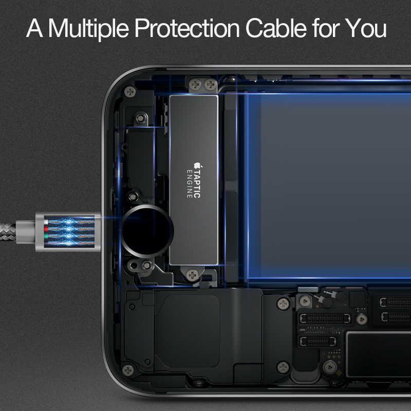 Cafele USB kablosu iPhone 4 için 6 6s 7 8 yüksek kaliteli naylon örgülü hızlı şarj kablosu cep telefonu şarj cihazı için 180cm