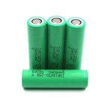 Li-ion 2500mAh 5pieces 3.7 v battery 3.7V li-ion 18650 battery 25R 3.7 v batteries sam 25r bateria 18650 recargable lithium
