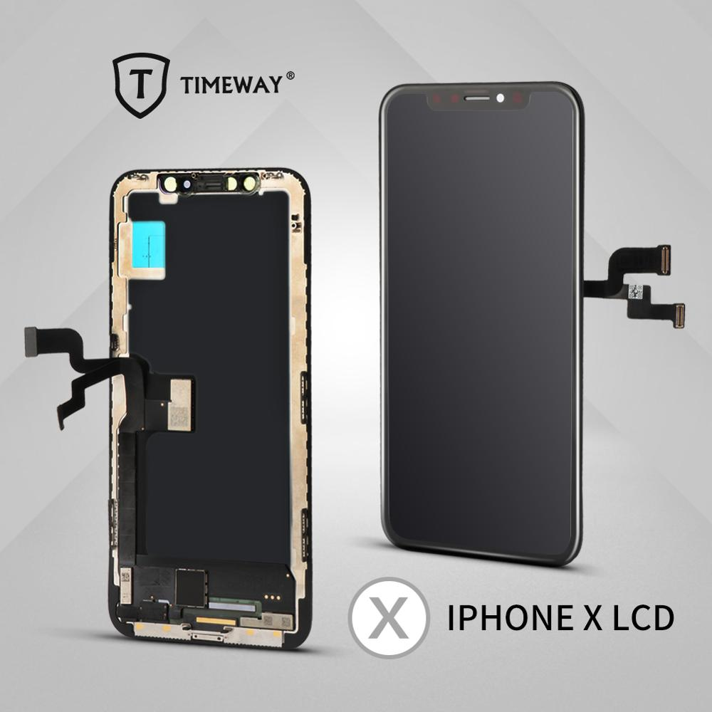 For iphone X XS Max XR LCD Display For Tianma OLED OEM Mobile Phone Screen Digitizer For iphone 5 6 7 8 LCD Display Assembly(China)
