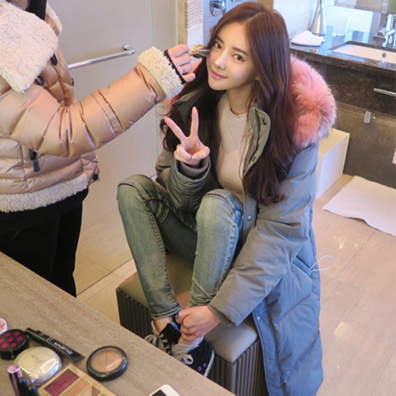 Sample No Sale Long Fund Thickening Heavy Seta Lead Down Jackets Woman Loose Coat Winter Clothes Goddess Necessary
