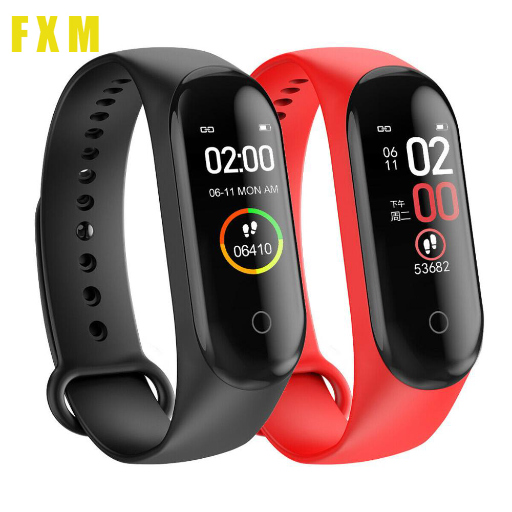 the mens' watches Wristbands Women Waterproof Sports Bracelet Phone Bluetooth Heart Rate Monitor Fitness watches For Android IOS