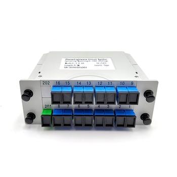 SC UPC PLC 1X16 splitter Fiber Optical Box FTTH PLC Splitter box with 1X16 Planar waveguide type 1x16 2 0mm plc optical splitter sc apc 1x16 plc fiber optical splitter single mode