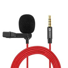 Lavalier Microphone Audio-Mic Omnidirectional Mini Portable Computer Jack for Laptop