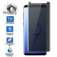 Конфиденциальности Анти-шпион экран протектор для Samsung Galaxy Note 10 плюс 8 9 20 Ультра Защитное стекло для Samsung S8 S9 плюс S10 S10E S20 S21