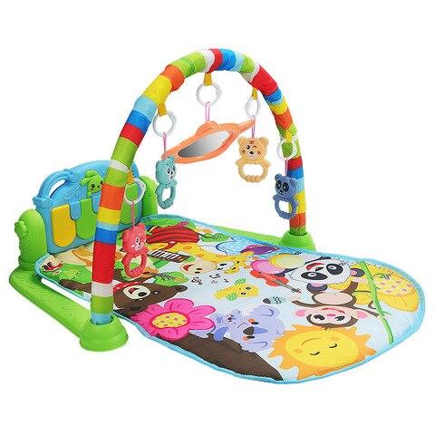 musica do bebe tapete de jogo almofada de quebra cabeca teclado piano educacao prateleira brinquedo