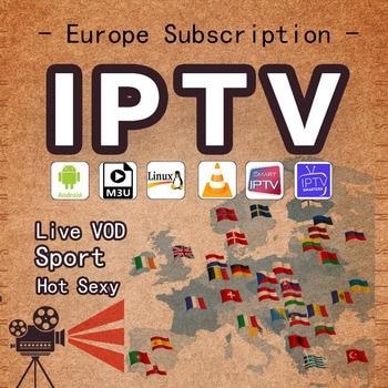 1 Year Spain TV box Europe Israel Portugal Itlay Arabic USA UK  IPTV Smart Adult tv M3U FREE TEST