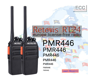 Image 3 - 4pcs Retevis RT24 Walkie Talkie PMR446 UHF 0.5W 16CH License Free VOX Scan Ham Radio Hf Transceiver A9123