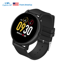 Captain HF Smart Bluetooth Watch Fitness Watch Waterproof IP67 300mAh Battery APP Heart Rate Sport Watch гироскутер kiwano ko x sport app