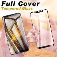 Protezione dello schermo In Vetro Temperato Per Xiaomi Mi 11X 11i 10i 10 10T 9T 9 Pro 8 SE A1 a2 Lite 5G A3 Copertura Completa di Protezione di Vetro Pellicola