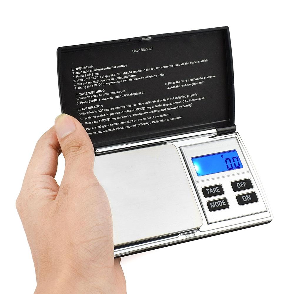 NEWACALOX 500g x 0.01g Básculas digitales de precisión para joyas - Instrumentos de medición - foto 4