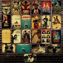 [ Mike86 ] Movie JAWS GOD FATHER Monkey  Metal Sign Vintage Pub Store Retro Iron Painting art Poster Art 20*30 CM LT-1788