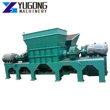Alumínio pode placa-mãe reciclagem triturador de plástico sucata trituradores de aço máquina de trituração de pneus triturador de madeira máquinas de jardim