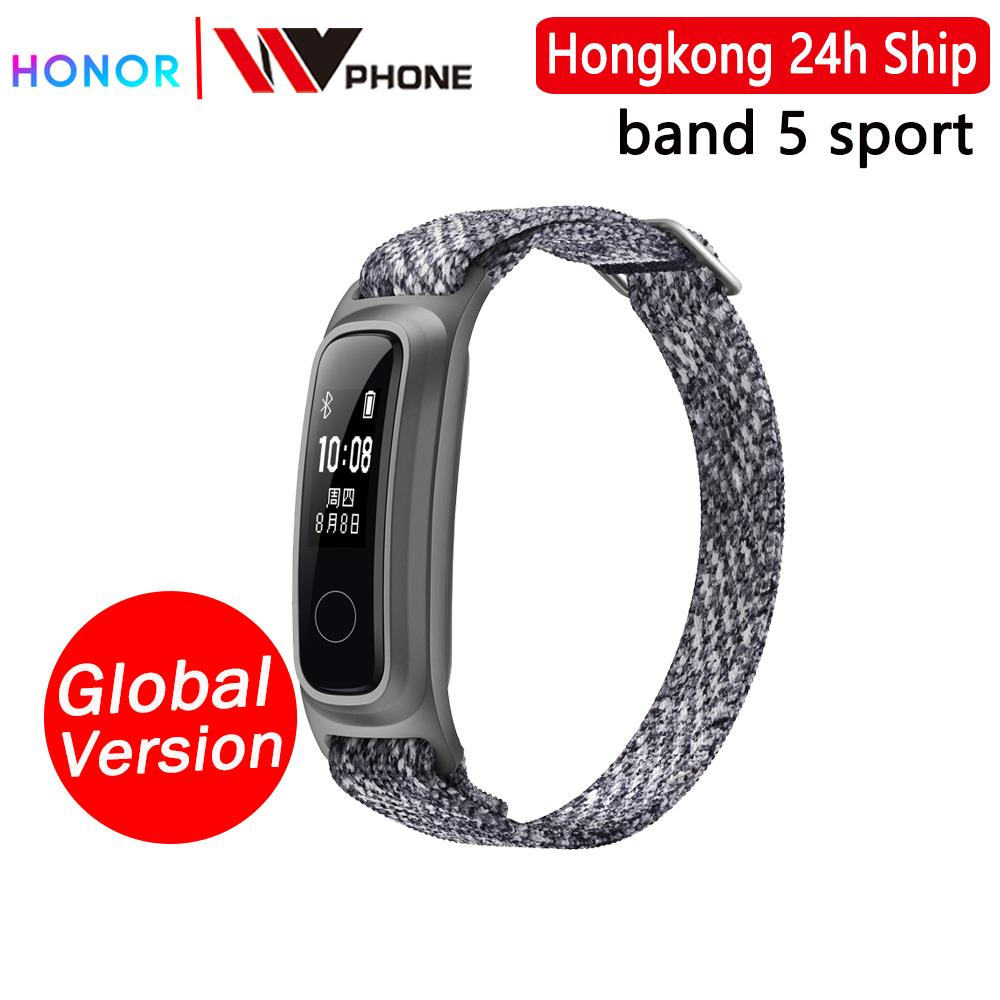 Huawei honor Band 5 sport edition Smart Band Dual Wrist&Footwear Mode Data Monitor Waterproof Smart Sports BraceletSmart Wristbands   -