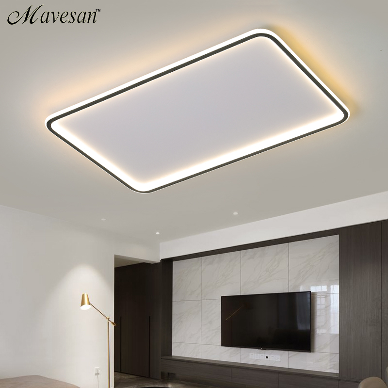 Ceiling LED Lights For Living room Bedroom Fixtures Ring Modern Gold Bedroom Lighting Indoor Home Decoration Plafon Lamp Lustre
