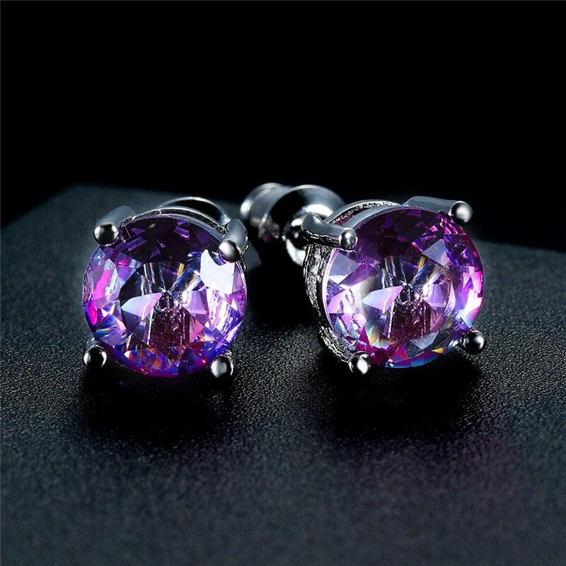 Purple Pink Earrings