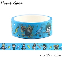 Homegaga My Hero Academia Washi Tape Catoon Adhesive Tapes M