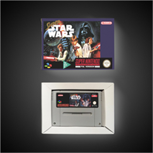 Super Star Wars - EUR Version Action Game Card With Retail Box