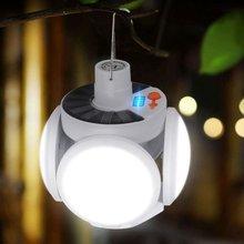 42 светодиодный светильник для кемпинга на солнечных батареях