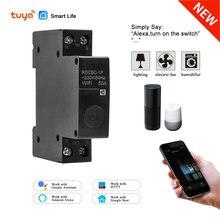 Умный выключатель с wi fi 1p 18 мм