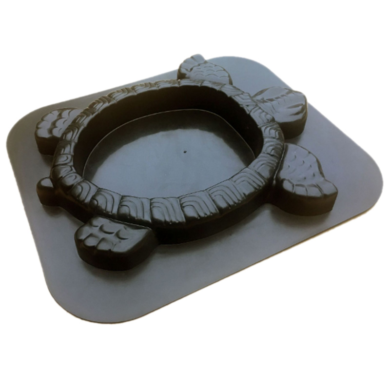 Precast Concrete Mold Turtle Path Mold Concrete Stepping Stone Plastic Cement Manually Paving Molds Road Making Tool for Courtya