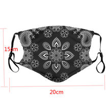 Protective Cotton Washable Respirator Breathing Outdoor Dustproof Breathable Washable Scarf Outdoor Cyling Bandana Headband(China)
