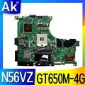 AK N56VZ ноутбука материнская плата ASUS N56VB N56VM N56VZ N56VJ N56V тест оригинал материнской платы GT650M-4G