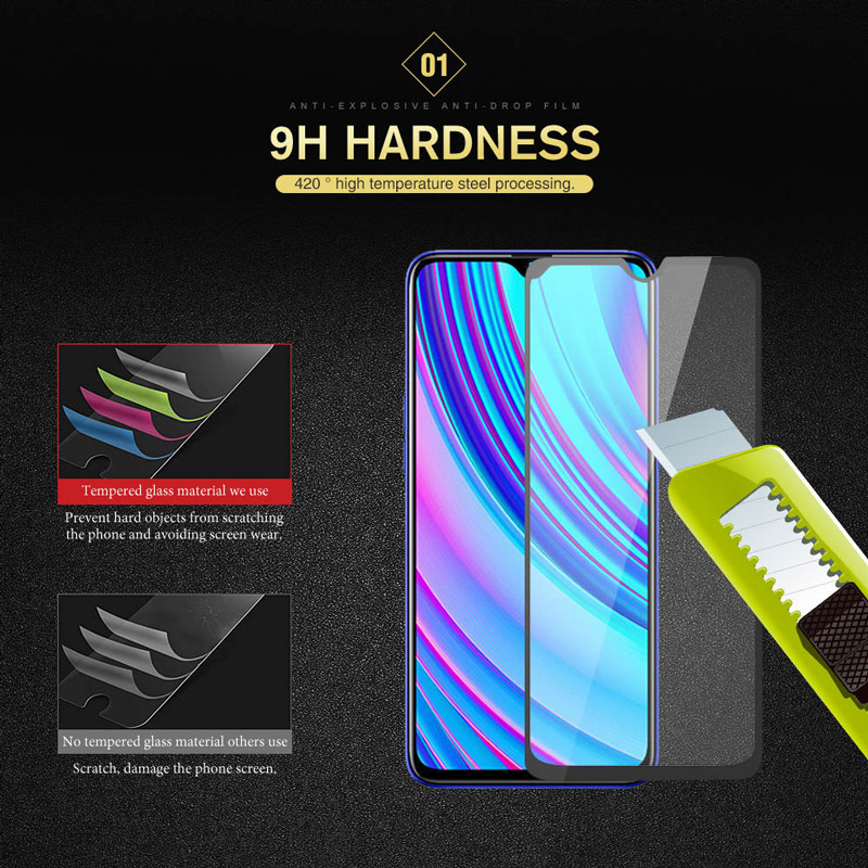FQYANG 2pcs Full Glass For OPPO Realme 3Pro x 2 1 pro 3pro Tempered Screen Protector U1 C2 C1 2018 2019